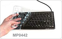 Diapharma/Cherry Professional Compact Keyboard G84-4100 Cover for use with Multiplate®/MP0442/Box/1 pc