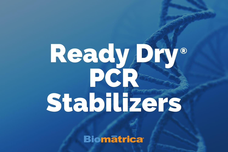 Biomatrica/ReadyDry® PCR Stabilizers - Biomatrica/8 vials/63301-013G-8