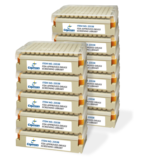 Biomol/FDA-Approved Drugs Screening Library/50 µl/Cay23538-50
