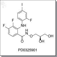 Cellagentech/PD0325901 | MEK1/2 inhibitor/C7303-5/5 mg (powder)