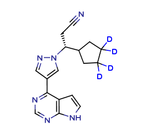 Clearsynth/Ruxolitinib D4/CS-AU-00068