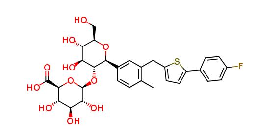 Clearsynth/Canagliflozin-2-Glucuronide/10mg/CS-O-11225