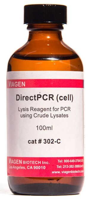 Viagenbiotech/DirectPCR Lysis Reagent (Cell) 100ml/302-C/1 Ea