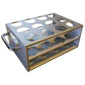 bellcoglass/Stainless Steel Metal Rack for Auto-Blot Tubes/Search for:/7910-03040