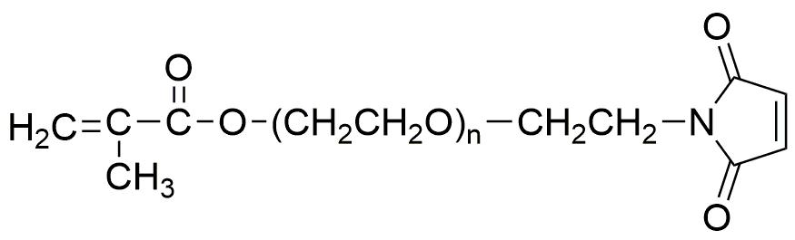 Advanced Biochemicals/α-Methacryloyl-ω-maleimidyl poly(ethylene glycol) (MW: 2kDa, 3.5kDa, 5kDa, 10kDa, 20kDa)/1g/HEP4902-1g