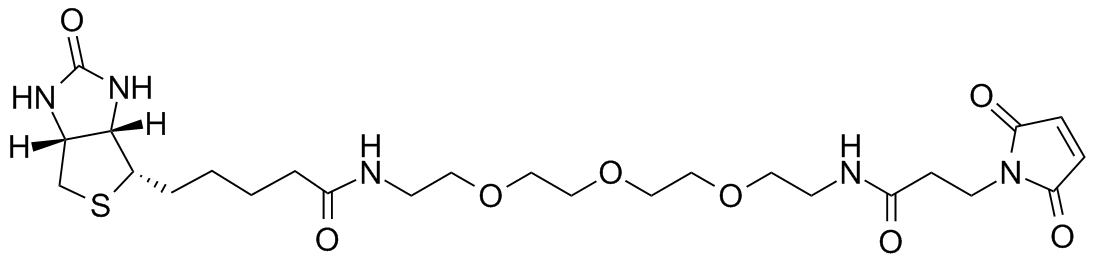 Clickchemistrytools/Biotin-PEG3-Maleimide/1029-100/100 mg
