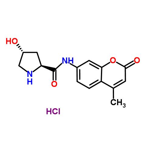 GoldBio/L-Hydroxyproline 7-amido-4-methylcoumarin hydrochloride/L-050-250/250 mg