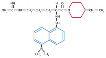Haematologic Technologies/Dansylarginine N-(3-ethyl-1,5-pentanediyl)amide . HCl/DAPA/1mg
