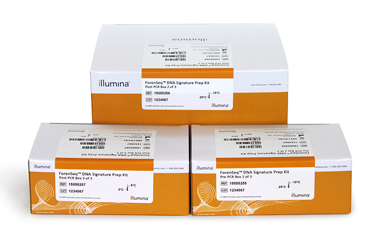 "Illumina/ForenSeq <b style=""color:#cc0000;"">DNA</b> Signature Prep Kit/TG-450-1001/1 Ea"