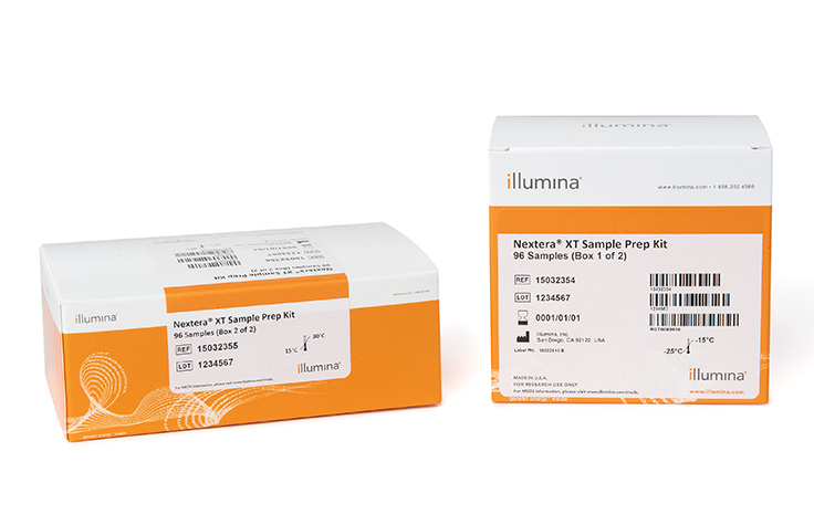 Illumina/Nextera XT Index Kit v2 Set A (96 indexes, 384 samples)/FC-131-2001/1 Ea