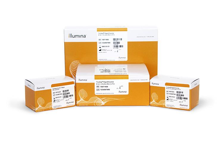 Illumina/TruSeq® Rapid Exome Kit (8 rxn × 3 plex)/FC-144-1001/1 Ea