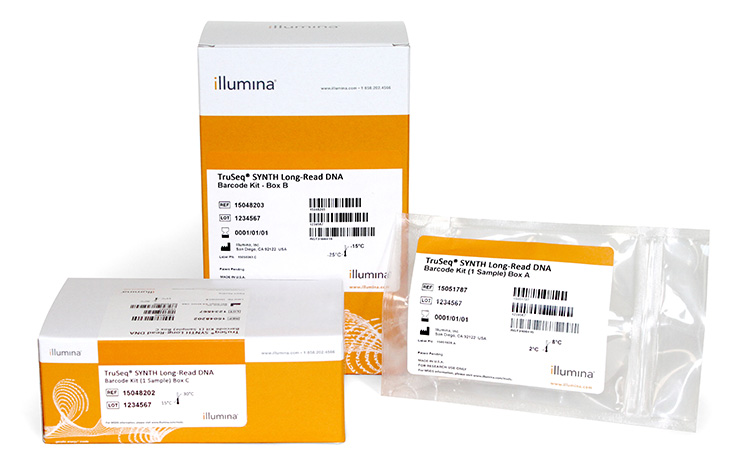 Illumina/TruSeq Synthetic Long-Read DNA Library Prep Kit (4 samples)/FC-126-1001/1 Ea