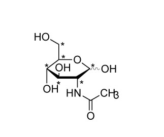 CIL(cambridge isotope laboratory)/N-ACETYLGLUCOSAMINE (13C6, 99%)/CLM-1827-PK