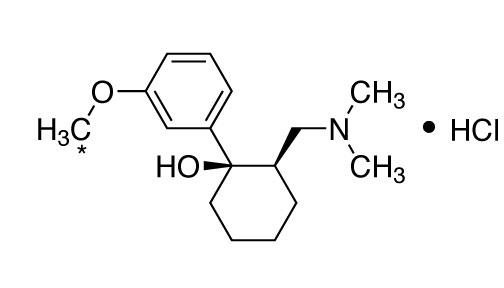 CIL/CIS-(+/-)-TRAMADOL:HCL (METHOXY-13C, 99%)/CLM-7491-PK
