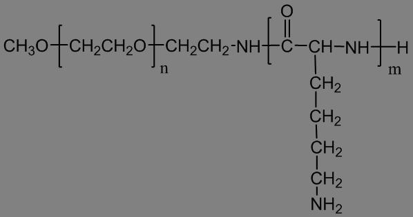 PEG-poly(L-lysine)