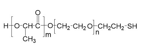 nanosoftpolymers/PLA-PEG-SH/3298-2000-5000-1g/1g