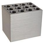 Pro-lab/Block, 15 x 12-13mm diameter tubes & vacutainers/PL.BSH100-1213/1 Ea