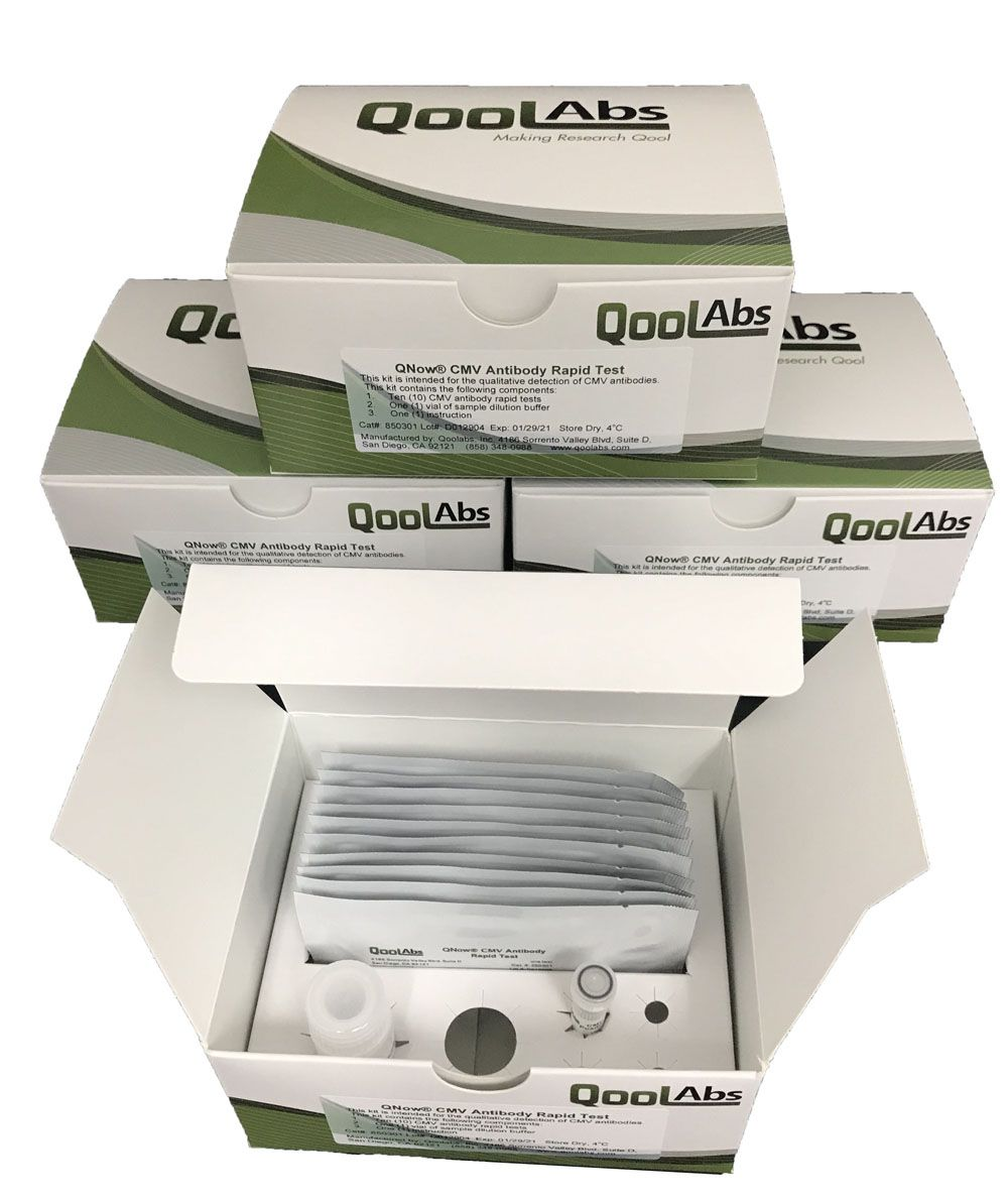 QoolAbs/QNow CMV Antibody Lateral Flow Assay Kit/300
