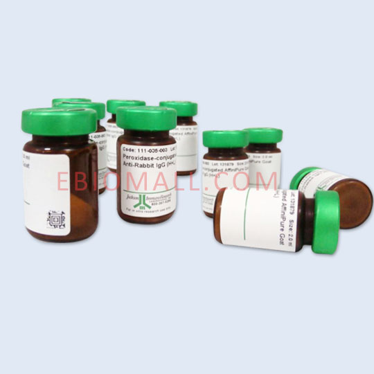 Jackson/18 nm Colloidal Gold AffiniPure Goat Anti-Horseradish Peroxidase (EM Grade)/0.5 ml/123-215-021