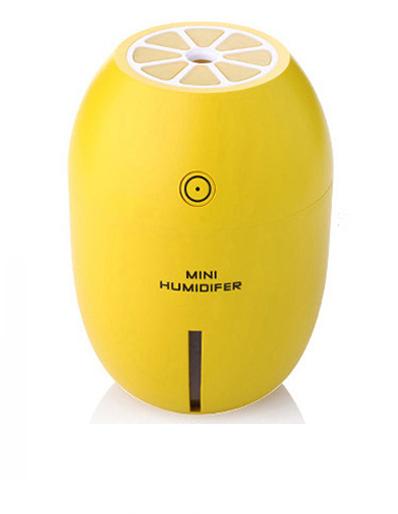 柠檬加湿器 家用迷你usb空气补水器创意宿舍卧室...